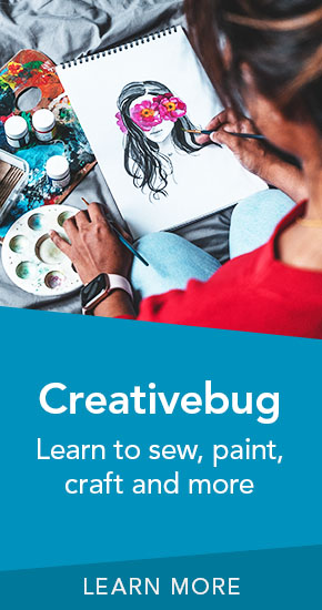 Creativebug | Learn to sew, paint, craft and more