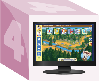 Abcmouse.com on a Desktop Display