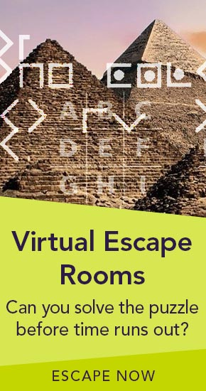Virtual Escape Rooms | Can you solve the puzzle before time runs out? | Escape Now
